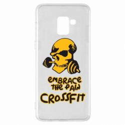 Чехол для Samsung A8+ 2018 Embrace the pain. Crossfit - FatLine