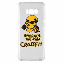 Чехол для Samsung S8+ Embrace the pain. Crossfit - FatLine
