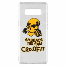 Чехол для Samsung Note 8 Embrace the pain. Crossfit - FatLine