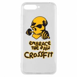 Чехол для Huawei Y6 2018 Embrace the pain. Crossfit - FatLine