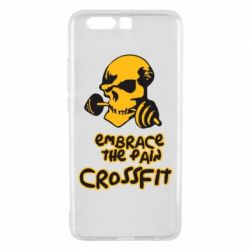 Чехол для Huawei P10 Plus Embrace the pain. Crossfit - FatLine