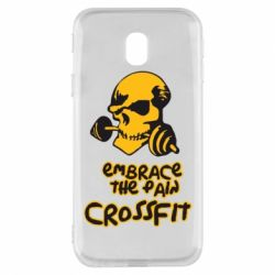 Чехол для Samsung J3 2017 Embrace the pain. Crossfit - FatLine
