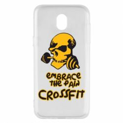 Чехол для Samsung J5 2017 Embrace the pain. Crossfit - FatLine