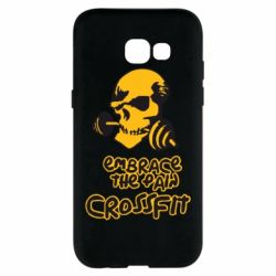 Чехол для Samsung A5 2017 Embrace the pain. Crossfit - FatLine