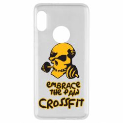 Чехол для Xiaomi Redmi Note 5 Embrace the pain. Crossfit - FatLine