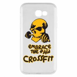 Чехол для Samsung A7 2017 Embrace the pain. Crossfit - FatLine