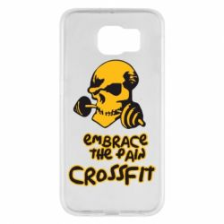 Чехол для Samsung S6 Embrace the pain. Crossfit - FatLine