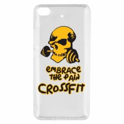 Чехол для Xiaomi Mi 5s Embrace the pain. Crossfit - FatLine