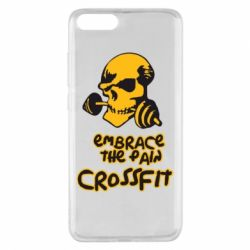 Чехол для Xiaomi Mi Note 3 Embrace the pain. Crossfit - FatLine