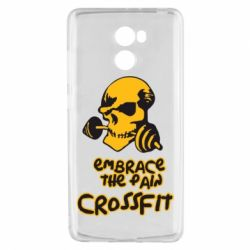 Чехол для Xiaomi Redmi 4 Embrace the pain. Crossfit - FatLine