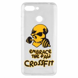 Чехол для Xiaomi Redmi 6 Embrace the pain. Crossfit - FatLine