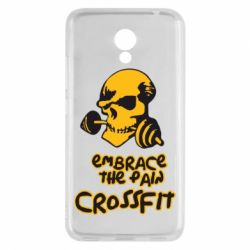 Чехол для Meizu M5c Embrace the pain. Crossfit - FatLine