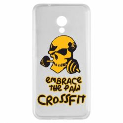 Чехол для Meizu M5s Embrace the pain. Crossfit - FatLine