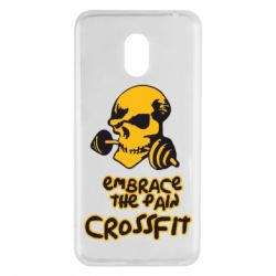 Чехол для Meizu M6 Embrace the pain. Crossfit - FatLine