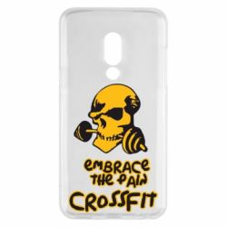 Чехол для Meizu 15 Embrace the pain. Crossfit - FatLine