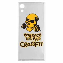 Чехол для Sony Xperia XA1 Embrace the pain. Crossfit - FatLine