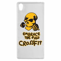 Чехол для Sony Xperia Z5 Embrace the pain. Crossfit - FatLine