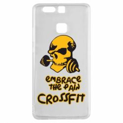 Чехол для Huawei P9 Embrace the pain. Crossfit - FatLine