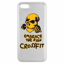Чехол для Huawei Y5 2018 Embrace the pain. Crossfit - FatLine