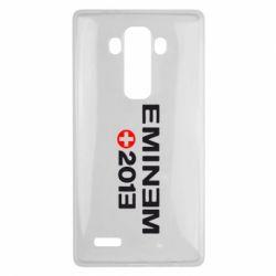 Чехол для LG G4 Eminem 2013 - FatLine