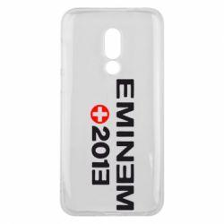 Чехол для Meizu 16 Eminem 2013 - FatLine