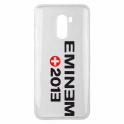 Чехол для Xiaomi Pocophone F1 Eminem 2013 - FatLine
