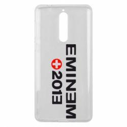 Чехол для Nokia 8 Eminem 2013 - FatLine