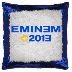Подушка-хамелеон Eminem 2013