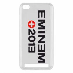Чехол для Xiaomi Redmi 5a Eminem 2013 - FatLine