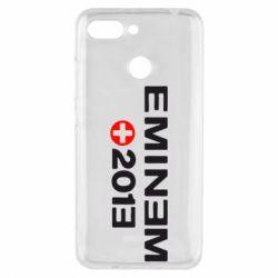 Чехол для Xiaomi Redmi 6 Eminem 2013 - FatLine
