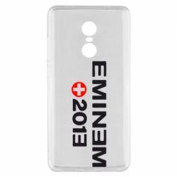 Чохол для Xiaomi Redmi Note 4x Eminem 2013