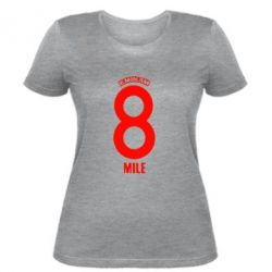 Женская футболка Eminem 8 mile