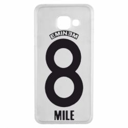 Чехол для Samsung A3 2016 Eminem 8 mile