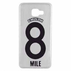 Чехол для Samsung A7 2016 Eminem 8 mile