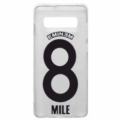Чехол для Samsung S10+ Eminem 8 mile