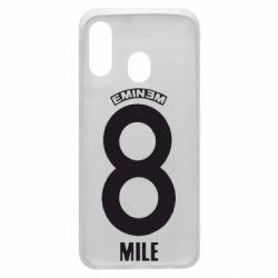 Чехол для Samsung A40 Eminem 8 mile