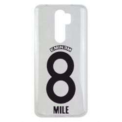 Чехол для Xiaomi Redmi Note 8 Pro Eminem 8 mile