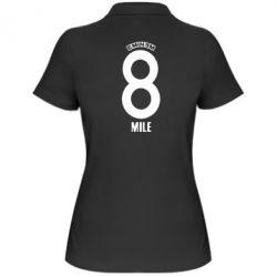 Женская футболка поло Eminem 8 mile - FatLine