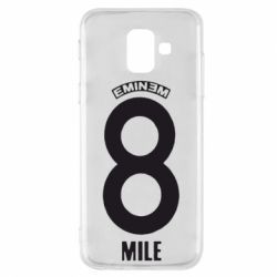 Чехол для Samsung A6 2018 Eminem 8 mile