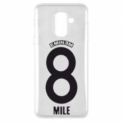 Чехол для Samsung A6+ 2018 Eminem 8 mile