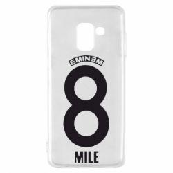 Чехол для Samsung A8 2018 Eminem 8 mile