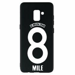 Чехол для Samsung A8+ 2018 Eminem 8 mile