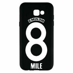 Чехол для Samsung A7 2017 Eminem 8 mile