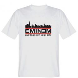 Мужская футболка EMINEM live from New York City - FatLine