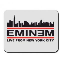 Коврик для мыши EMINEM live from New York City - FatLine