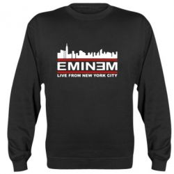 Реглан (свитшот) EMINEM live from New York City - FatLine