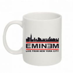 Купить Кружка 320ml EMINEM live from New York City, FatLine