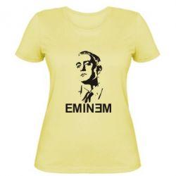 Женская футболка Eminem Logo - FatLine