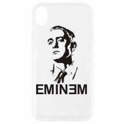 Чехол для iPhone XR Eminem Logo