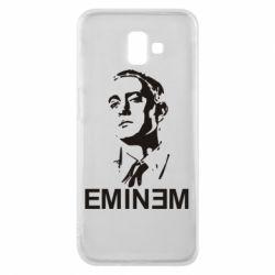 Чехол для Samsung J6 Plus 2018 Eminem Logo